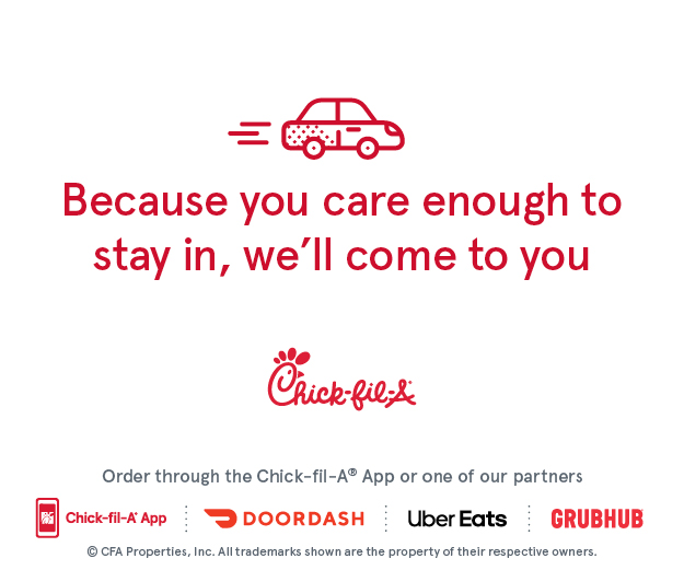 chick-fil-a banner graphic