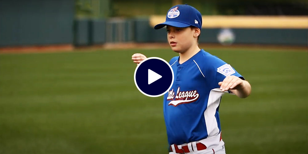 bb player warming up arms