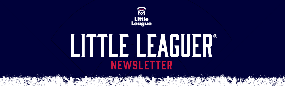 Little Leaguer Newsletter Graphic