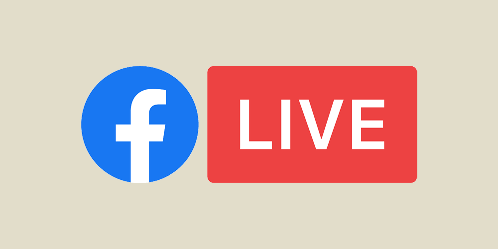facebook live video graphic