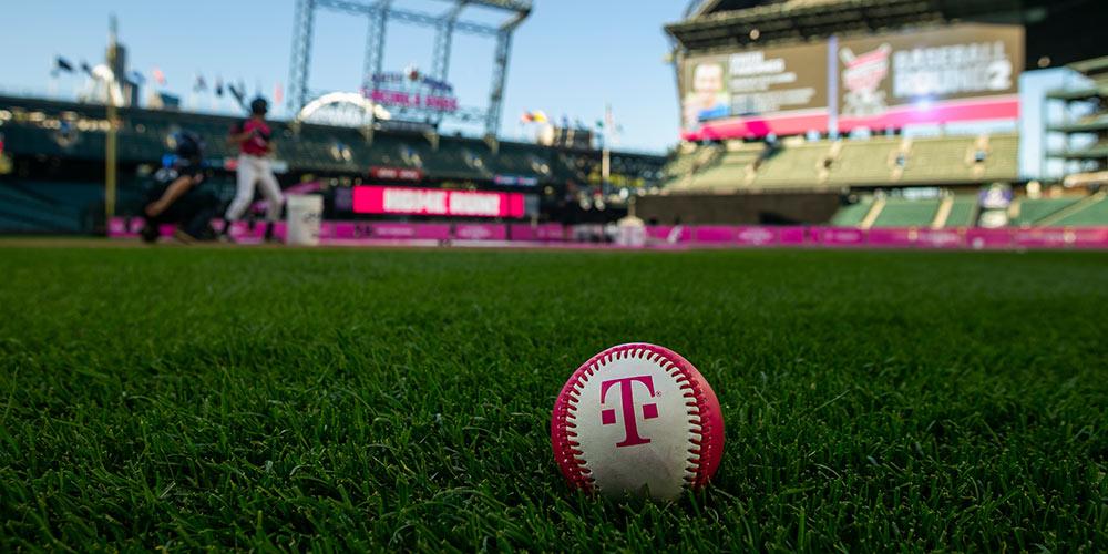 t-mobile basball on field