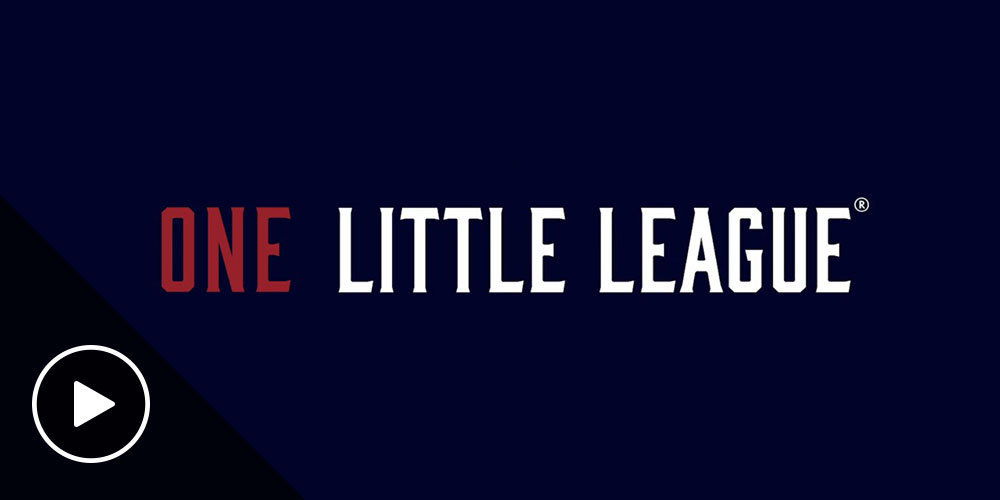 one team one little league graphic